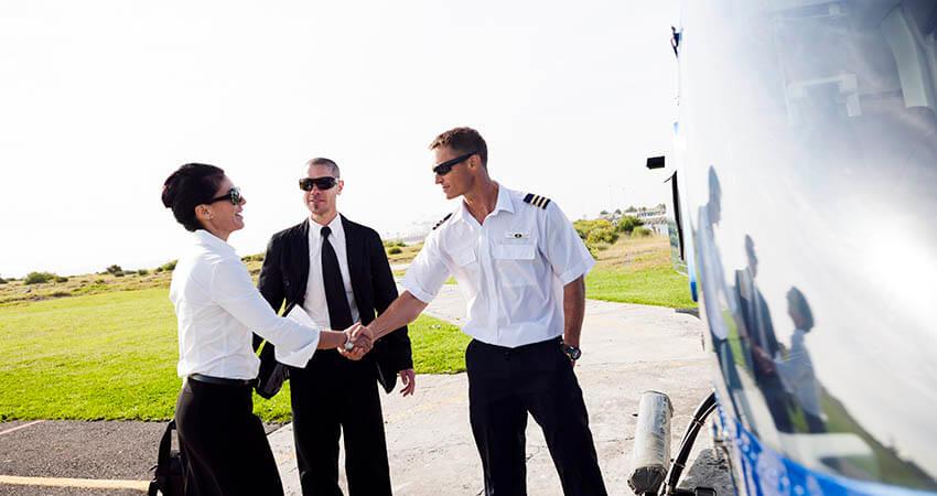 Aircraft customer service