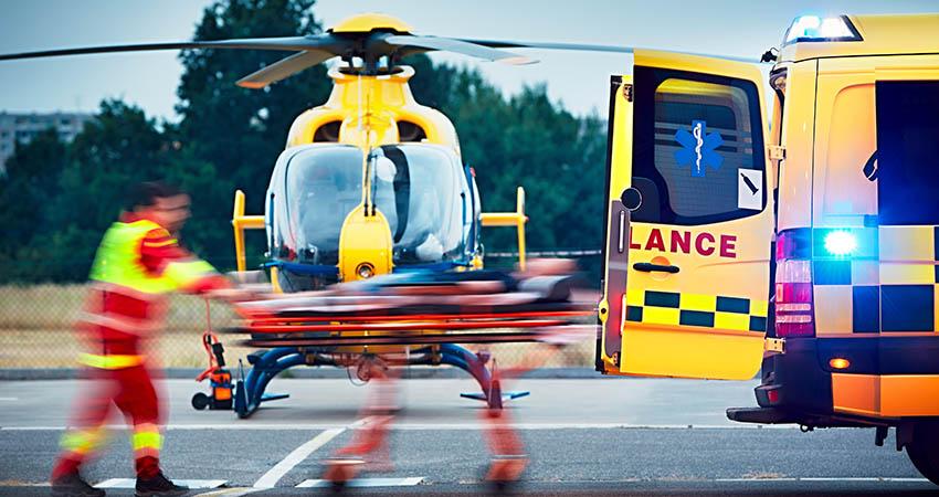 Air ambulance operations