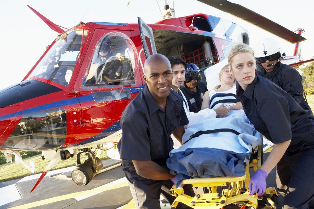 Air medical training