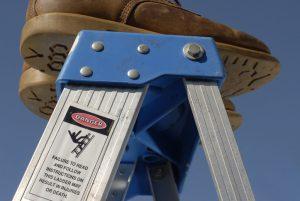 Maintenance ladder safety