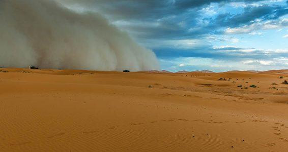 Dust Storm Dangers